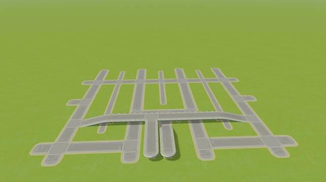 Городская сеть дорог