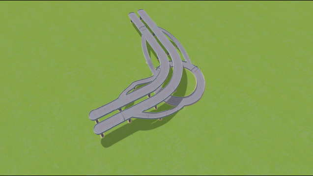 Highway with Roundabout