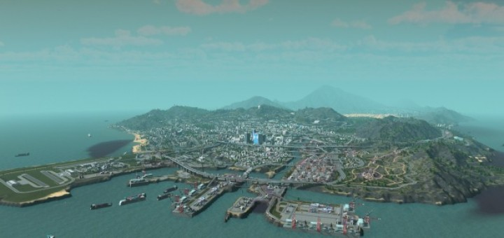 Los Santos Cities Skylines