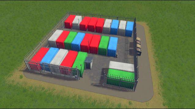 Self-Storage Yard