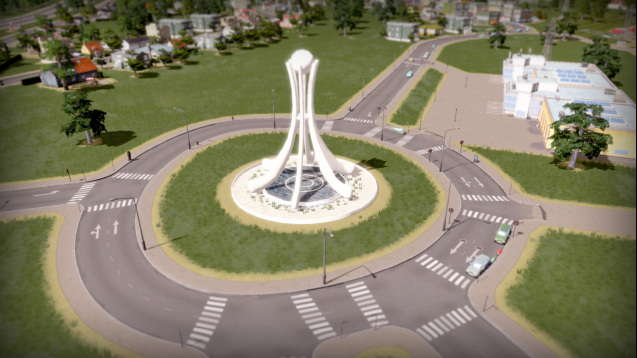 The Pearl Roundabout