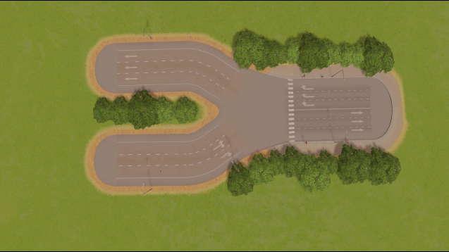 Шести полосное шоссе