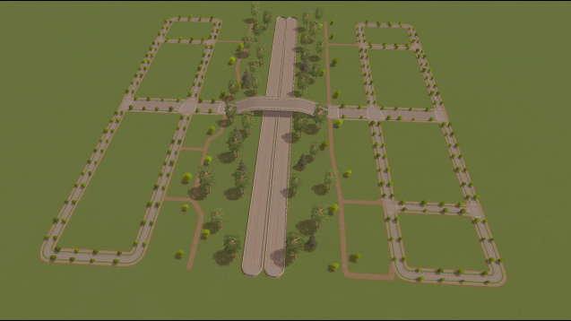 Городская дорожная сетка