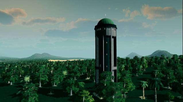 Водонапорная башня Грейфлоу