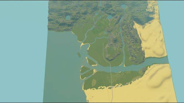 Дельта реки Хамбо