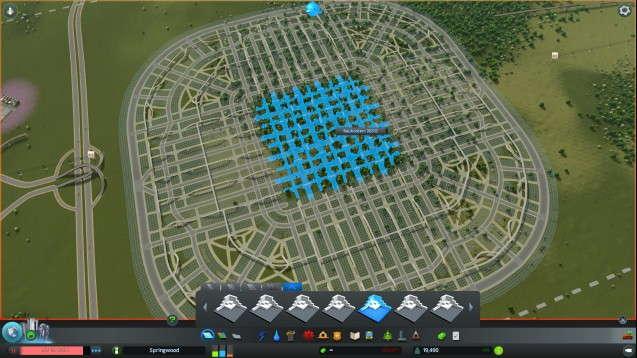 Городская сетка - центр