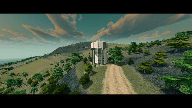 Дополнительная водонапорная башня
