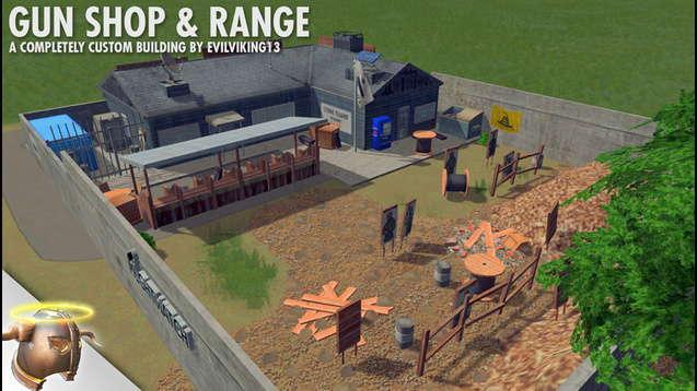 Тактический оружейный магазин