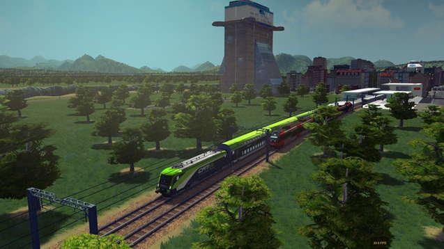 Городской поезд