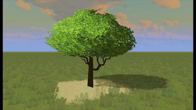 Зеленое Дерево Гинкго