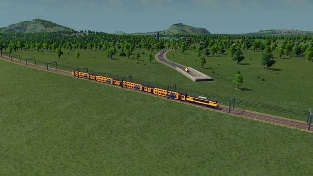 NS 1600 - Двухэтажный поезд