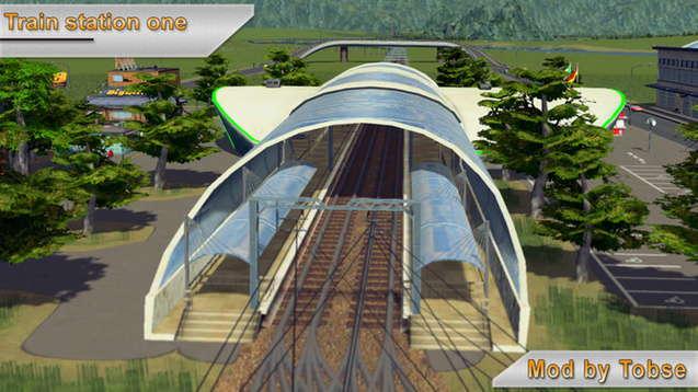 Железнодорожная станция Тобсе