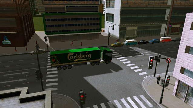 Carlsberg - грузовик