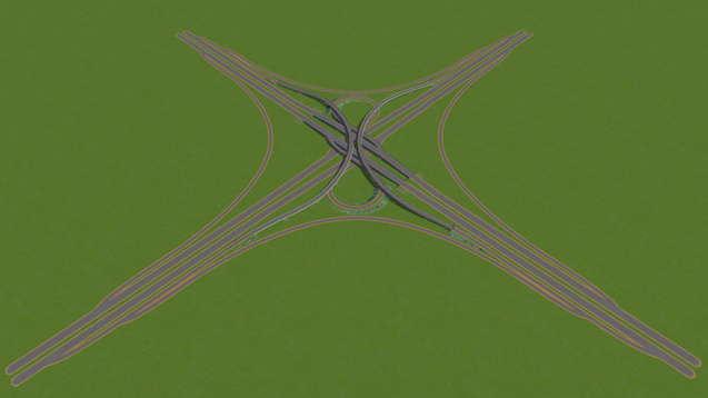 Перекрёсток-клевер