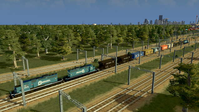 Conrail - Грузовой Поезд