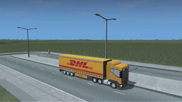 DHL - грузовик