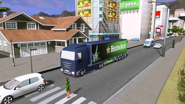 Heineken - грузовик