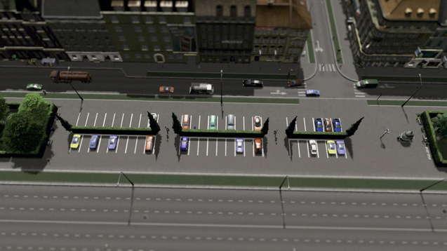 Парковочная зона