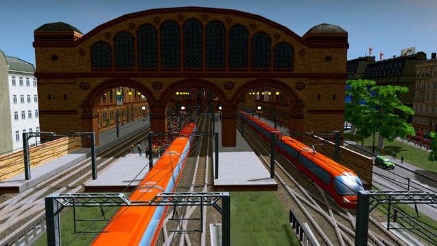Железнодорожная станция - 19 век