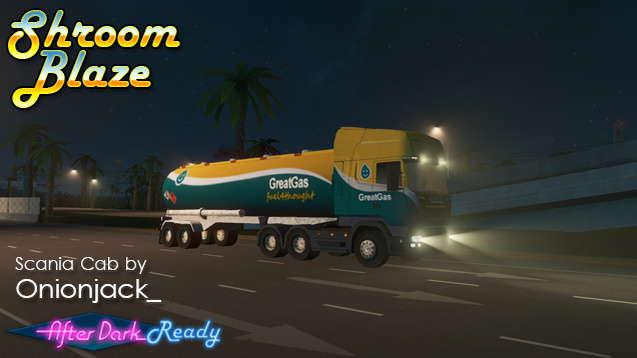 Scania - перевозка нефти