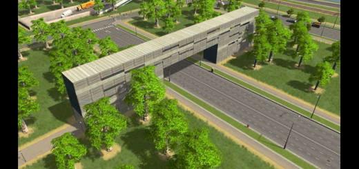Дизайнерский Железный мост