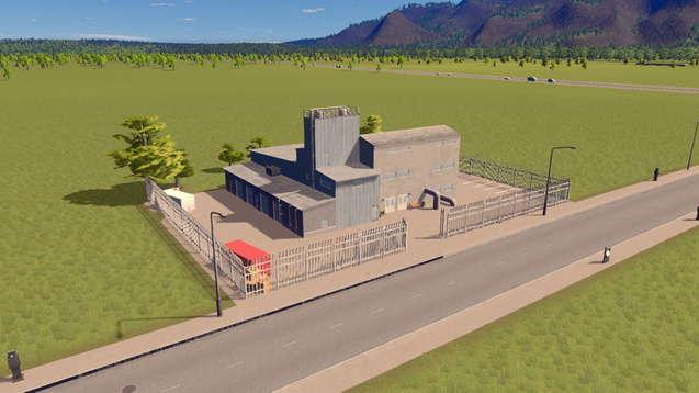 Большая водонасосная станция