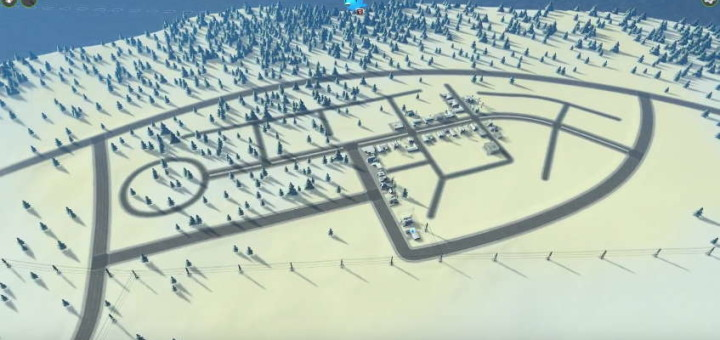 Cities Skylines: Snowfall
