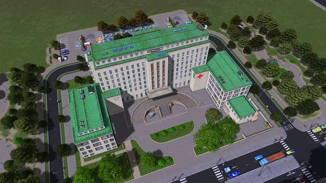 Большая классическая больница