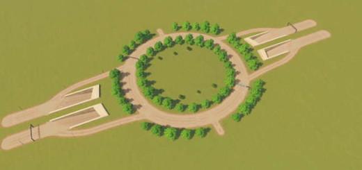 Тоннель под круговым движением
