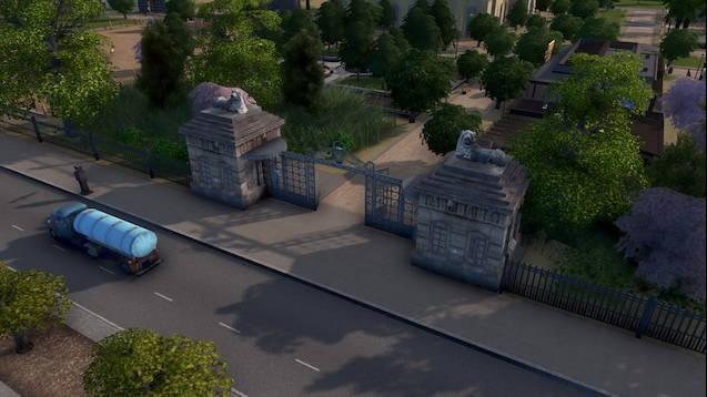 Ворота в Берлинский зоопарк