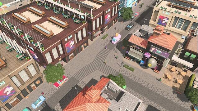 Современная улица