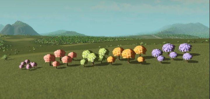 Цветочное дерево Гибискус