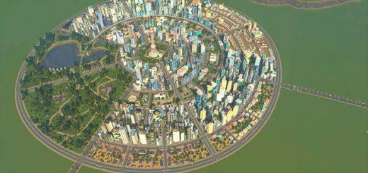 Круглый город