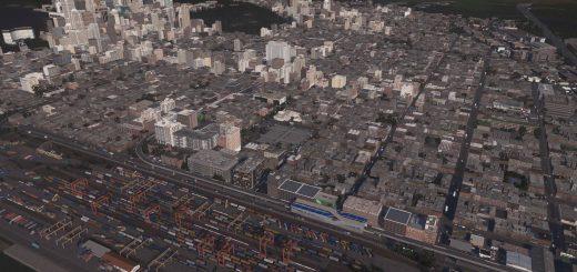 Город и железная дорога