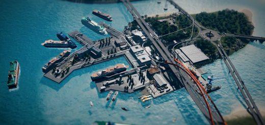 Порт на острове