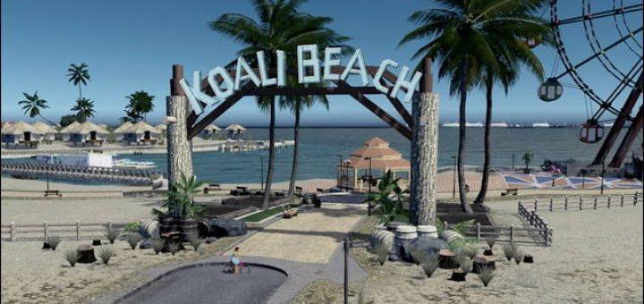 Вход в парк Пляж Коали