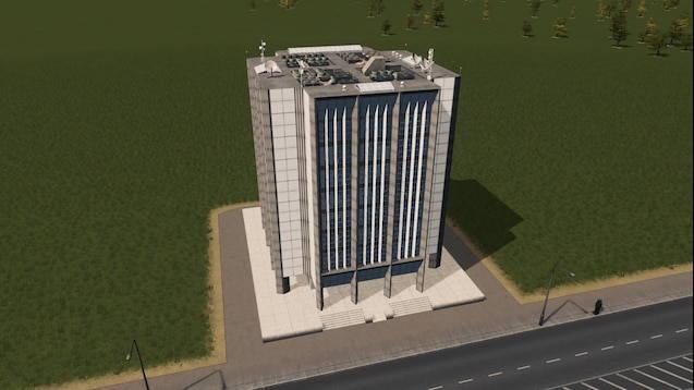 Современный офис 5х5 RICO