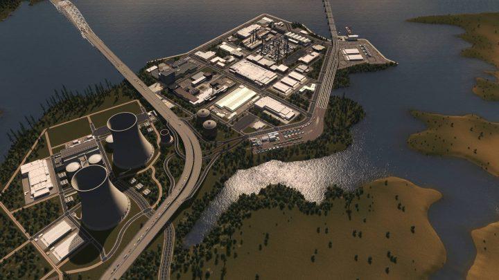 Нью Хэмсфорд - промышленная область