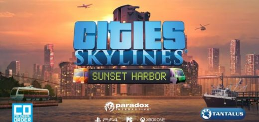 Cities: Skylines - Sunset Harbor