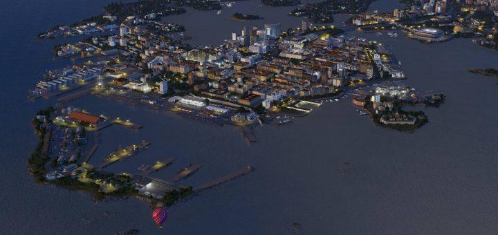 Город на островах