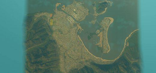 Город с 375k гражданами